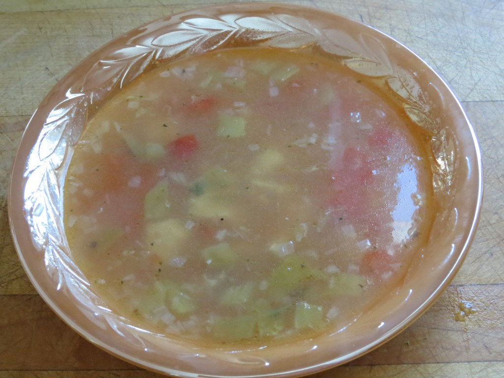 Steaming hot lime soup.  With peppers, shallots, chicken and tomatoes.  Perfect for a cold winter day.