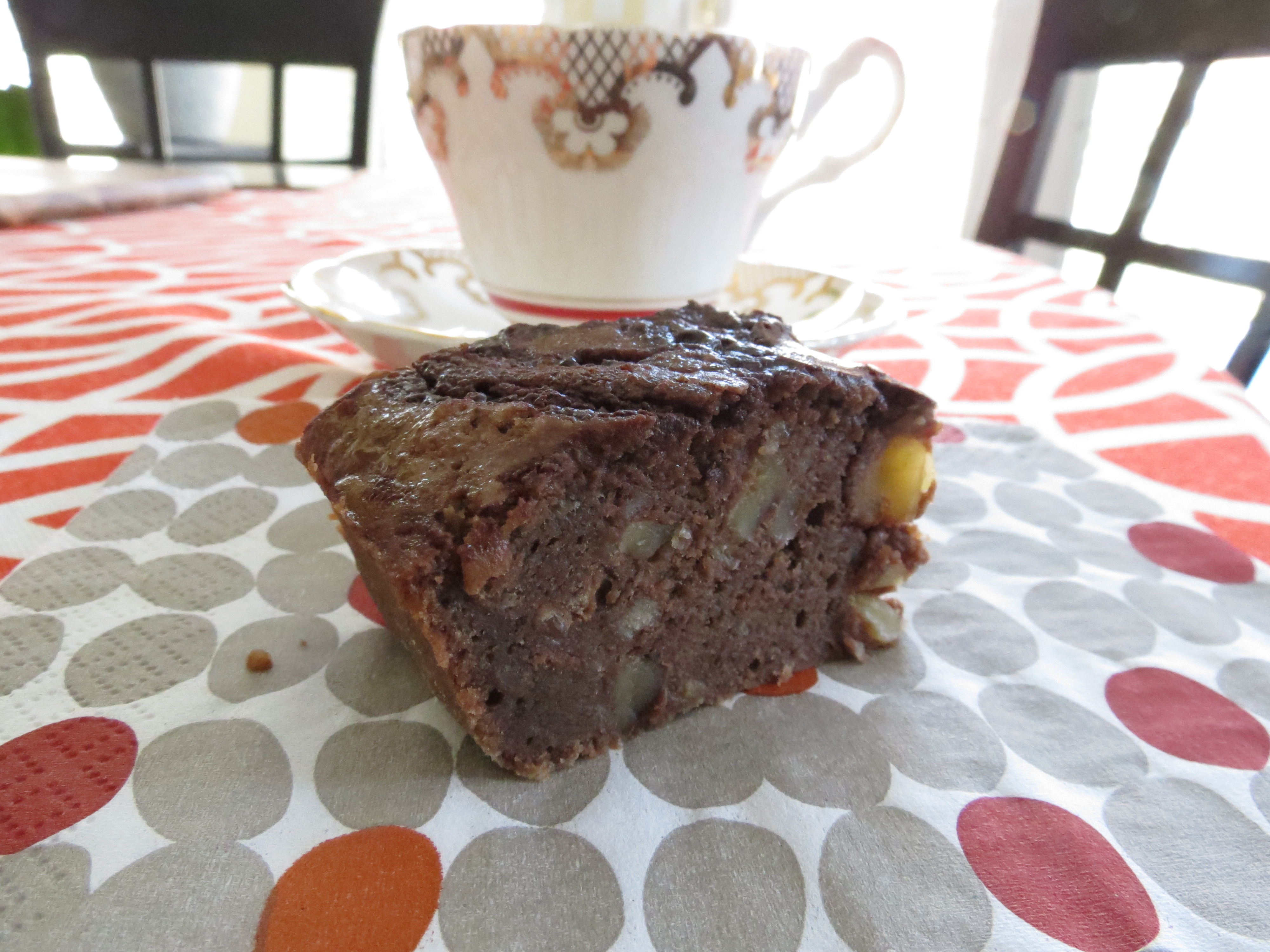 Banana Bread Brownies from the Fat Witch Bakery