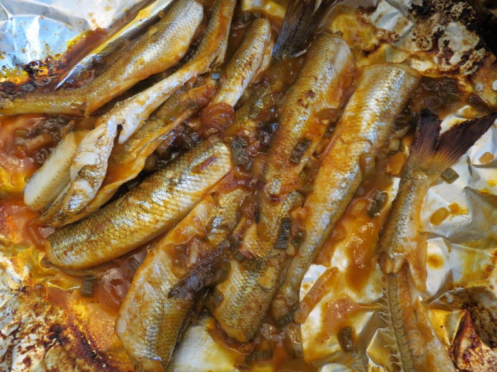 Sea Smelt Feast