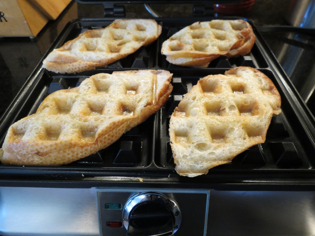 Look at how gorgeous these are!  Those little squares got super crispy from all the butter I lathered on before baking.  Butter.  It's still the love of my life.