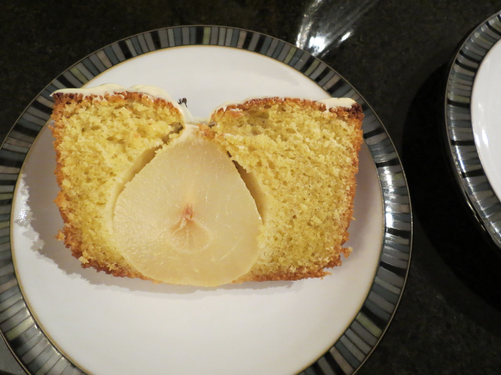 This is the perfect combination of fruit and cake.  Easy to make, and lovely to eat!
